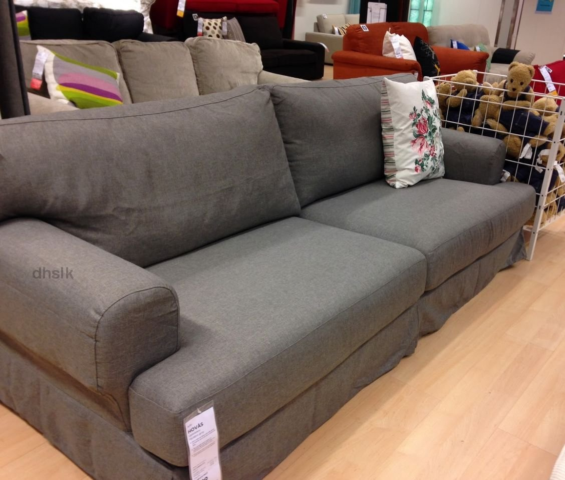IKEA HOV197S Hovas Sofa SLIPCOVER Cover HJULSBRO GRAY Grey : 5317bfd4480a554622b from rock-paper-scissors.ecrater.co.uk size 1128 x 958 jpeg 144kB