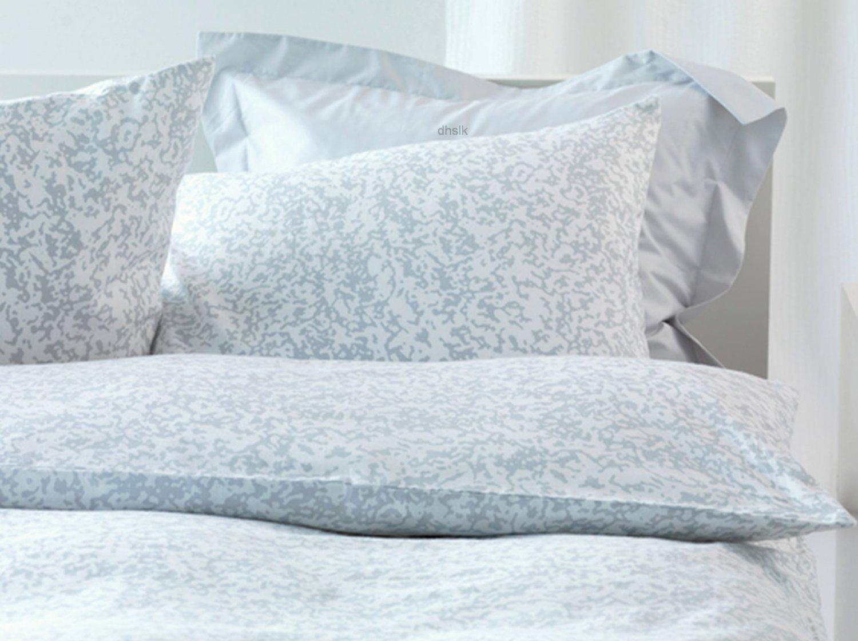 IKEA OFELIA T�NG Tang TWIN Duvet Cover GREY WHITE Zen