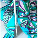 IKEA  MYRLILJA  KING Duvet COVER Set RETRO Swirl PURPLE Blue Green LAST ONE