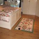 IKEA AKERKULLA Area RUG Throw Carpet Low Pile WHITE Multicolor ÅKERKULLA Folklore Tolle