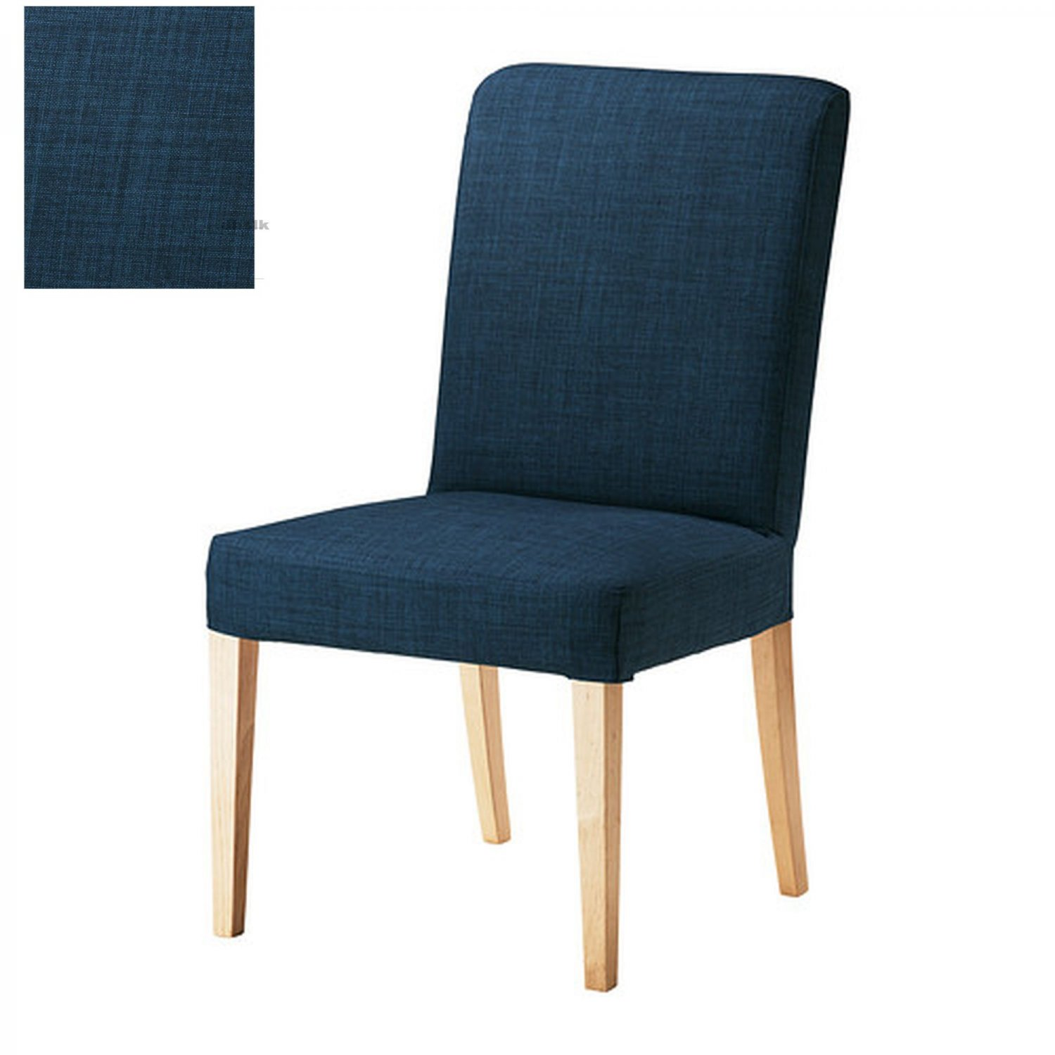 ikea henriksdal skiftebo chair slipcover cover 21 54cm blue. Black Bedroom Furniture Sets. Home Design Ideas