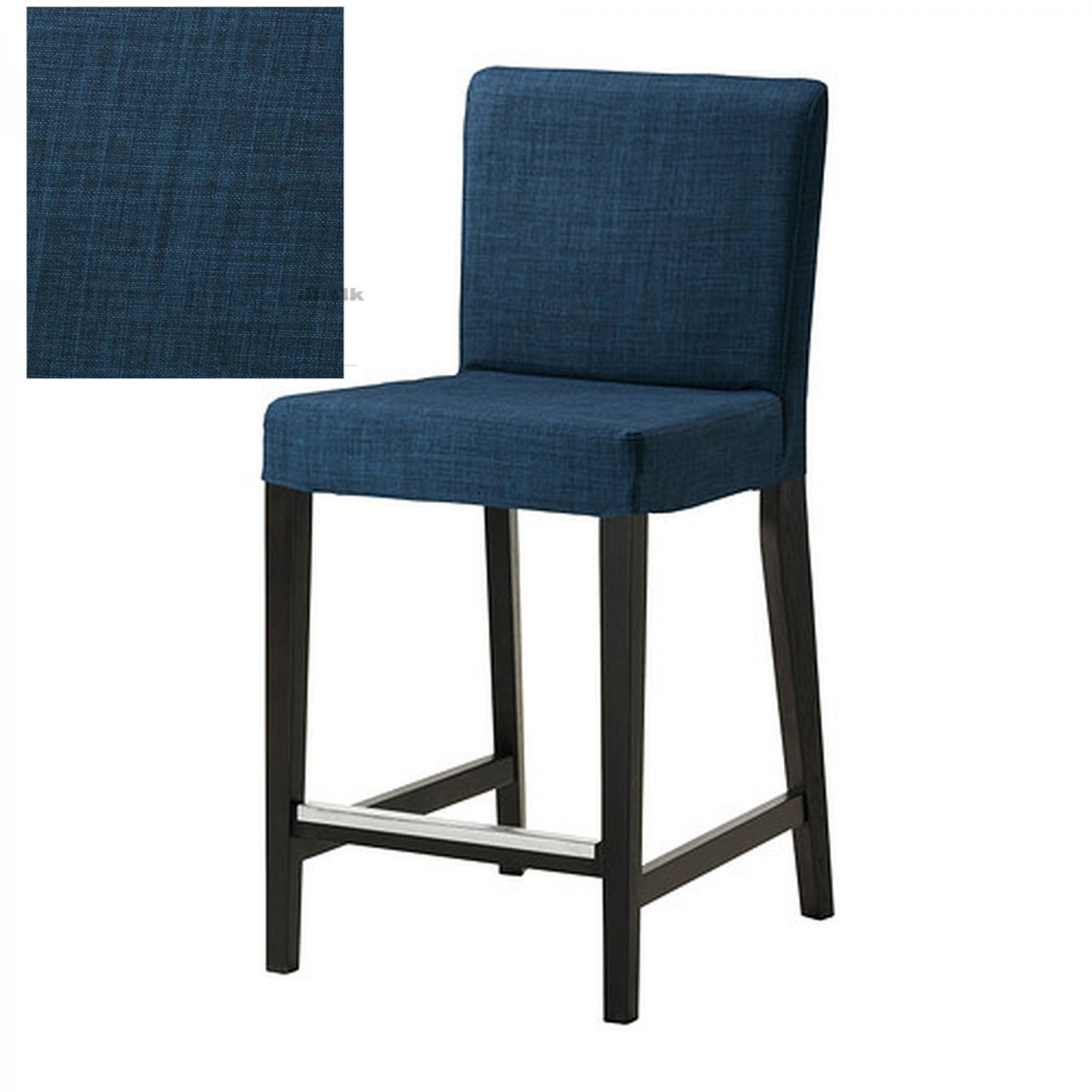 ikea henriksdal skiftebo bar stool slipcover barstool cover 19 48cm blue. Black Bedroom Furniture Sets. Home Design Ideas
