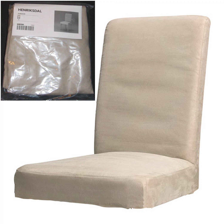 Ikea Henriksdal Kungsvik Sand Chair Slipcover Cover 21