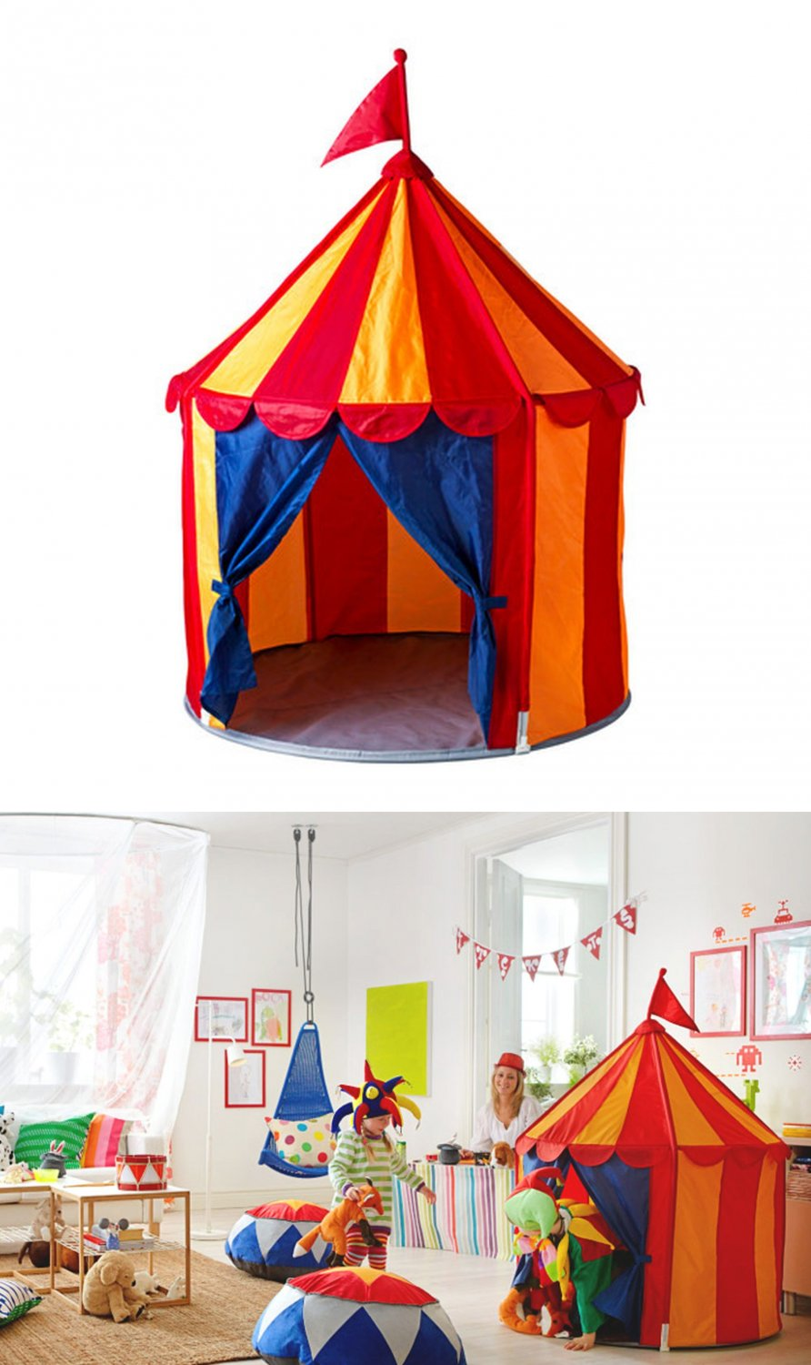 Boy Tent Toy : Ikea cirkustÄlt child s tent toy circus xmas girl boy