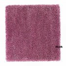 IKEA ABORG PINK Area RUG Throw CARPET Mat Hi Pile MODERN Shag Rose
