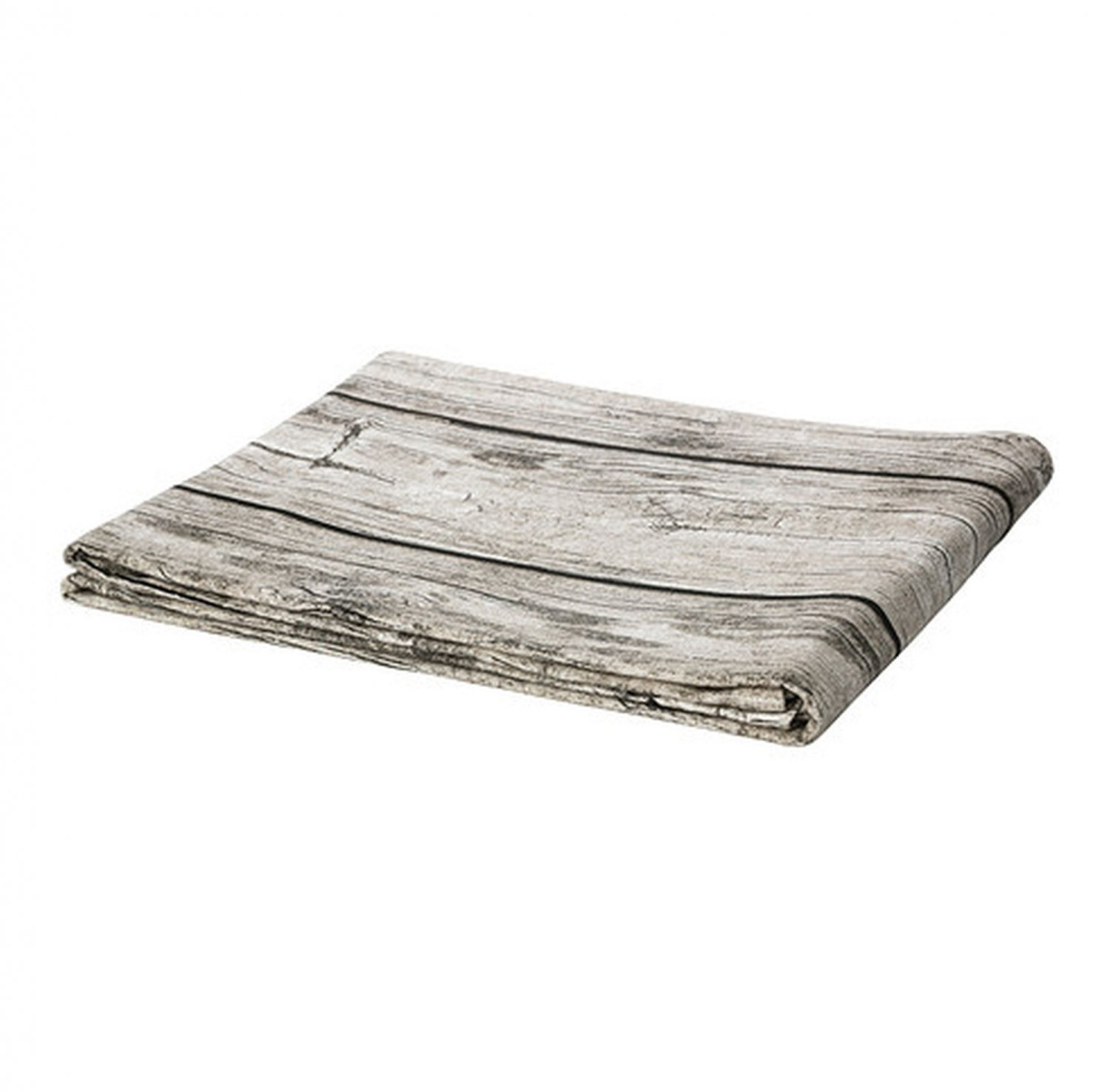 IKEA SOLFINT TABLECLOTH Wood Design Natural PHOTOGRAPH Weathered Barnboard XMAS