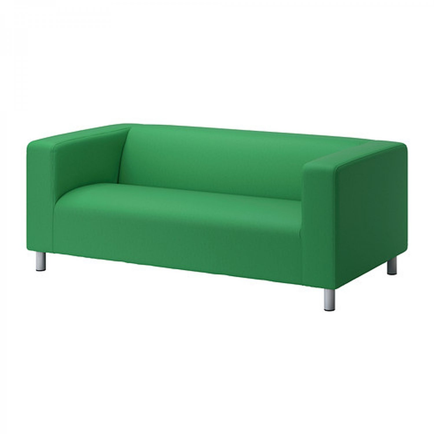 ikea klippan loveseat sofa slipcover cover vissle green