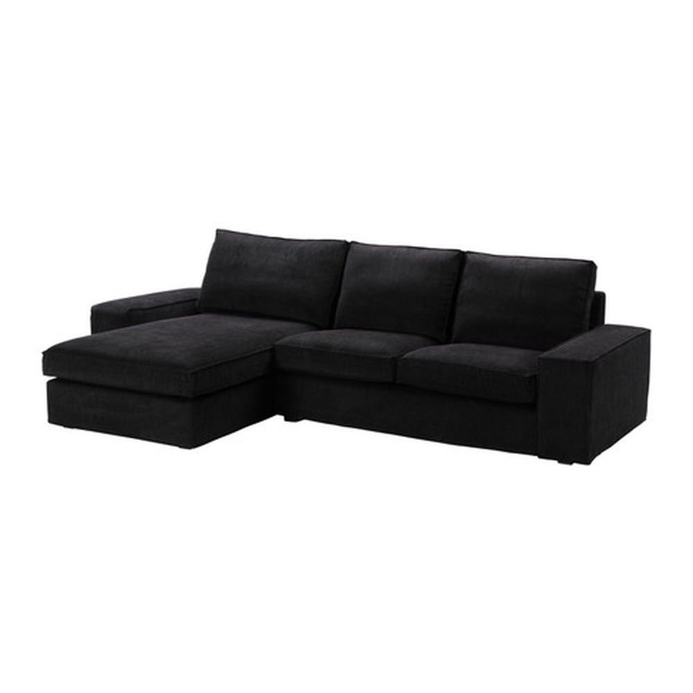 ikea kivik 2 seat loveseat sofa w chaise slipcover cover