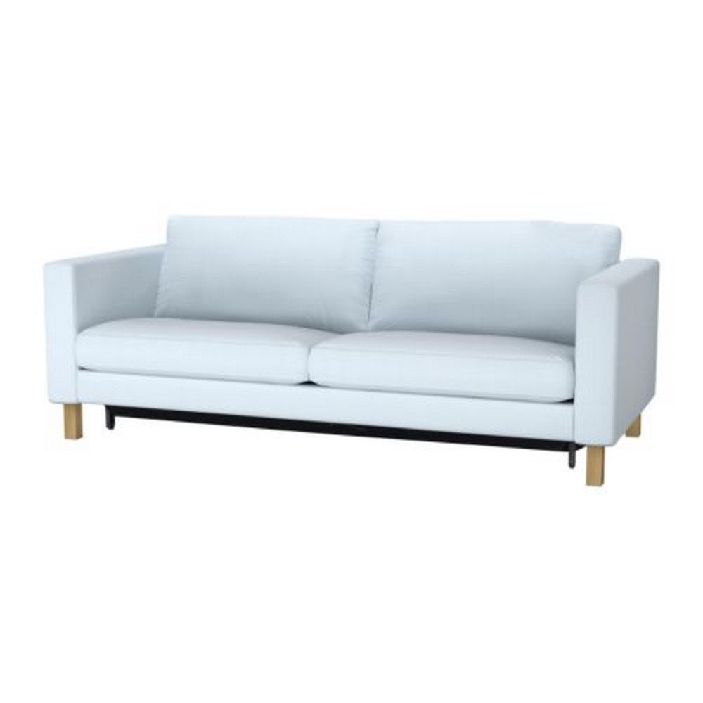 Ikea KARLSTAD Sofa Bed SLIPCOVER Sofabed Cover SIVIK Light