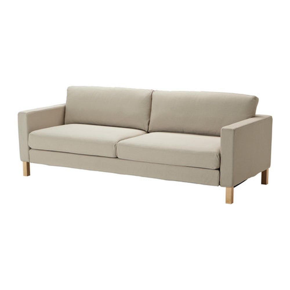 Covers For Ikea Karlstad Sofa: IKEA Karlstad Sofa Bed SLIPCOVER Sofabed Cover SIVIK BEIGE