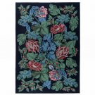 IKEA EMMIE PARLA Area RUG Wool PÄRLA Floral Leaf ROMANTIC Contemporary GORGEOUS