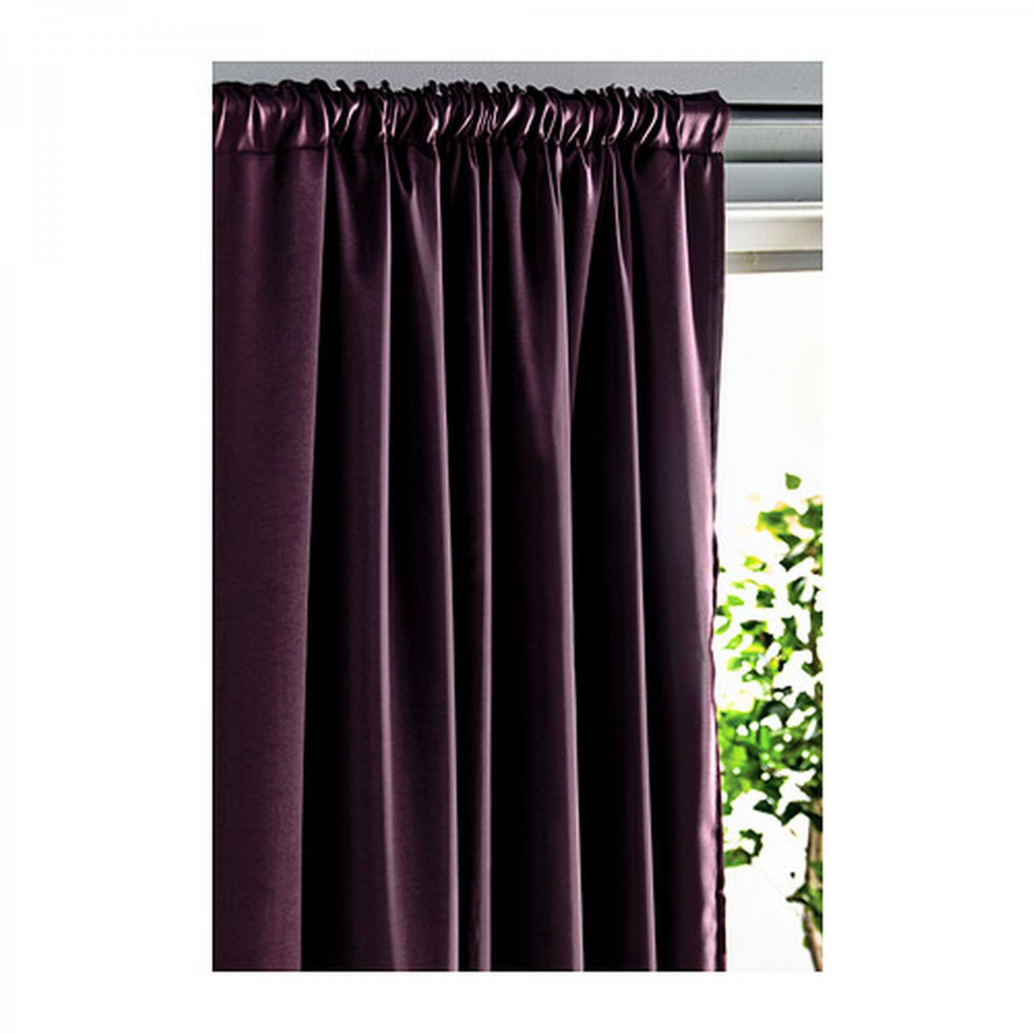 Ikea Werna Curtains Drapes 2 Panels Lilac Purple Block Out 98