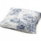 IKEA EMMIE LAND Cushion Cover Pillow Sham TOILE Blue White