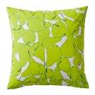 """IKEA SOMMAR 2015 PEAR Cushion COVER Pillow Sham GREEN WHITE 20"""" x 20"""" Maria Vinka Summer"""
