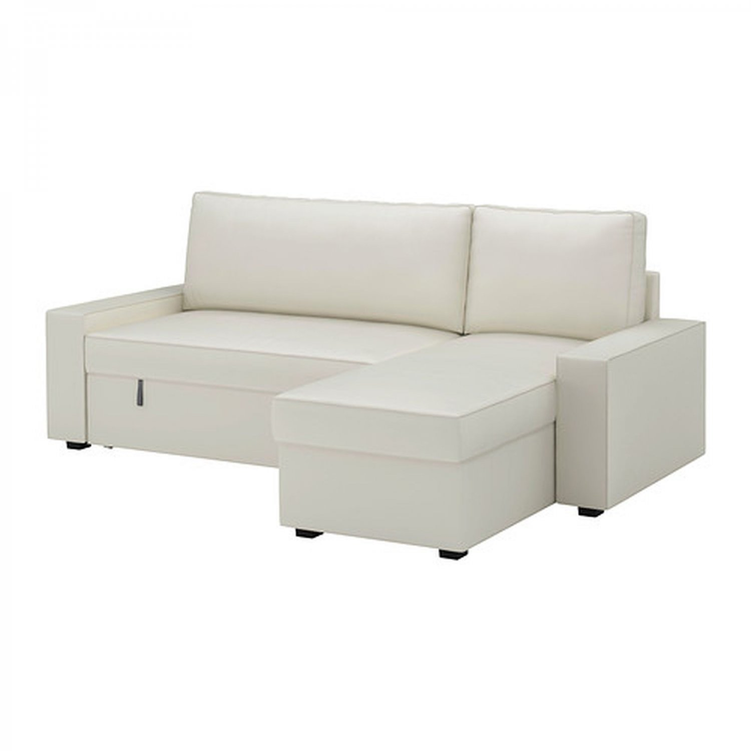 Ikea vilasund sofa bed with chaise slipcover sofabed cover for Chaise couch slipcover