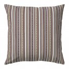 "IKEA ELVILDA Cushion COVER Pillow Sham STRIPES Brown 20"" x 20"" Multicolor"