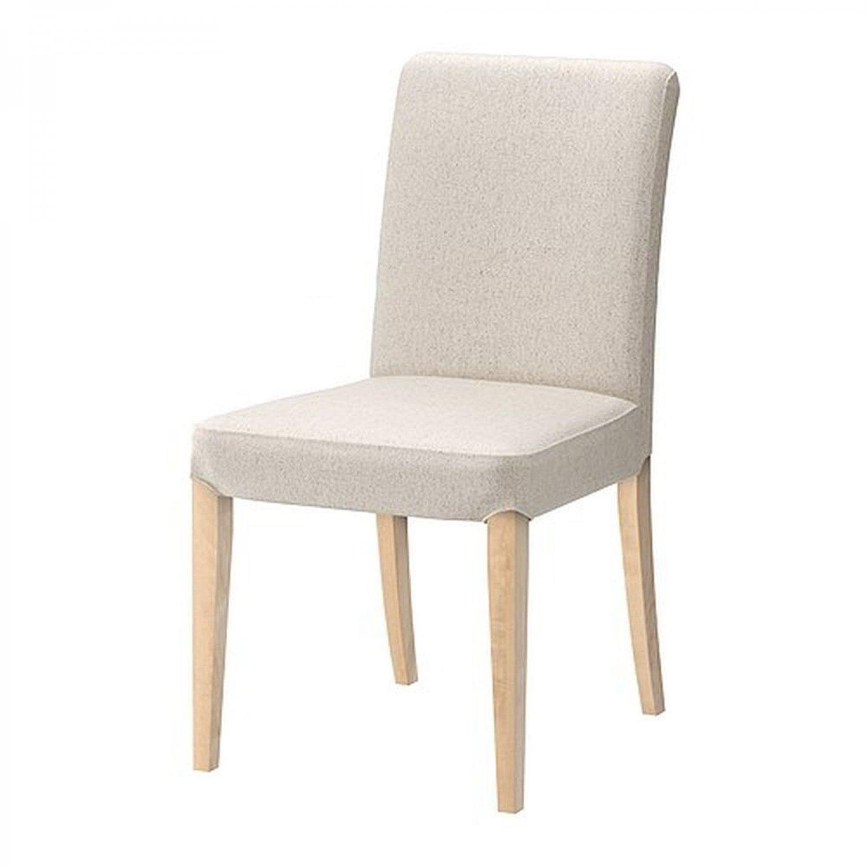 ikea henriksdal chair slipcover cover 21 54cm linneryd natural beige. Black Bedroom Furniture Sets. Home Design Ideas