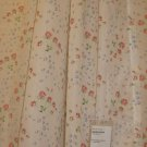 IKEA EMMIE KNOPP Floral  CURTAINS DRAPES Semi Sheer ENGLISH COUNTRY Roses Pink