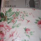 IKEA EMMIE Romantic Roses CURTAINS DRAPES English Country PINK Shabby Chic