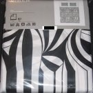 IKEA  MYRLILJA  KING Duvet COVER Set RETRO Swirl BLACK WHITE Psychedelic