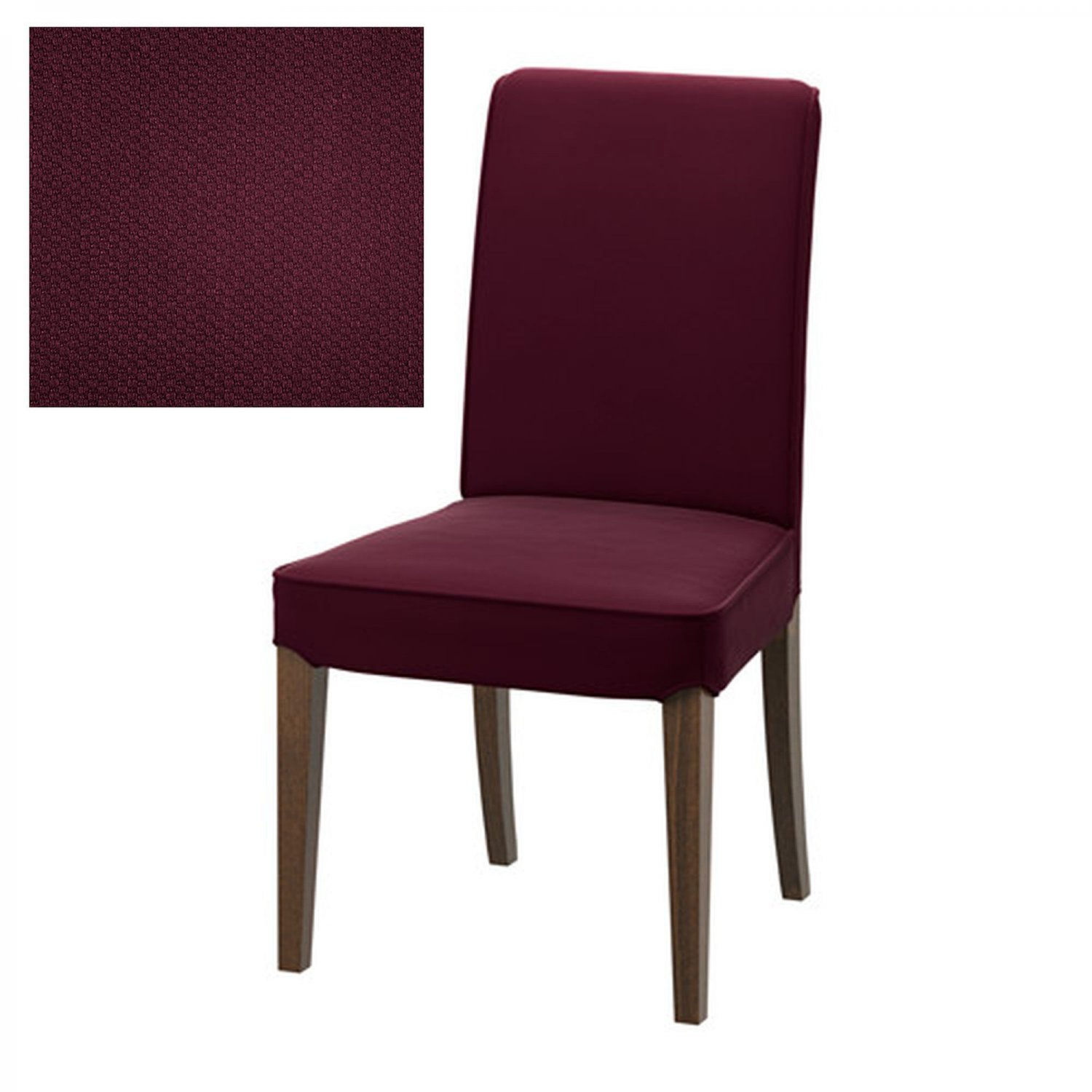 ikea henriksdal chair slipcover cover 21 54cm dansbo red lilac lilac red purple. Black Bedroom Furniture Sets. Home Design Ideas