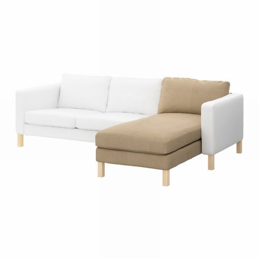 Ikea karlstad add on chaise longue slipcover cover lindo for Chaise longue jardin ikea