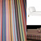 Ikea KARLSTAD Free-Standing CHAISE SLIPCOVER Cover DILLNE Multi Bright Stripes