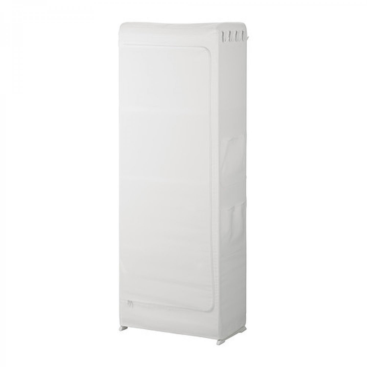 ikea mulig zippered cover white for mulig high shelving unit. Black Bedroom Furniture Sets. Home Design Ideas