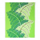 IKEA STOCKHOLM Fabric Material 1 Yd GREEN White FERN Jungle Print