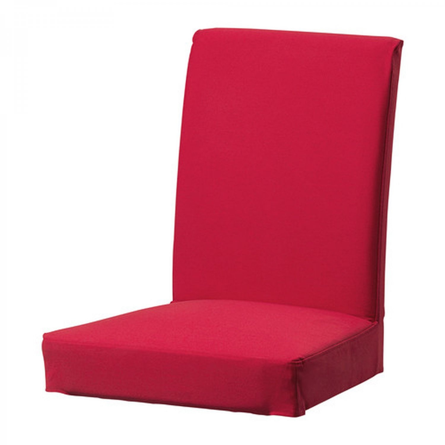"""IKEA Henriksdal Chair SLIPCOVER Cover 21"""" 54cm IDEMO RED Cotton"""