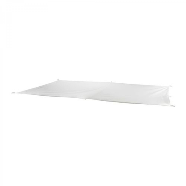 IKEA DYNING Patio GAZEBO Deck SHADE CANOPY Awning WHITE Rectangle