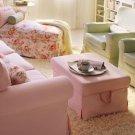 IKEA Ektorp BROMMA Footstool SLIPCOVER Cover BLEKINGE PINK