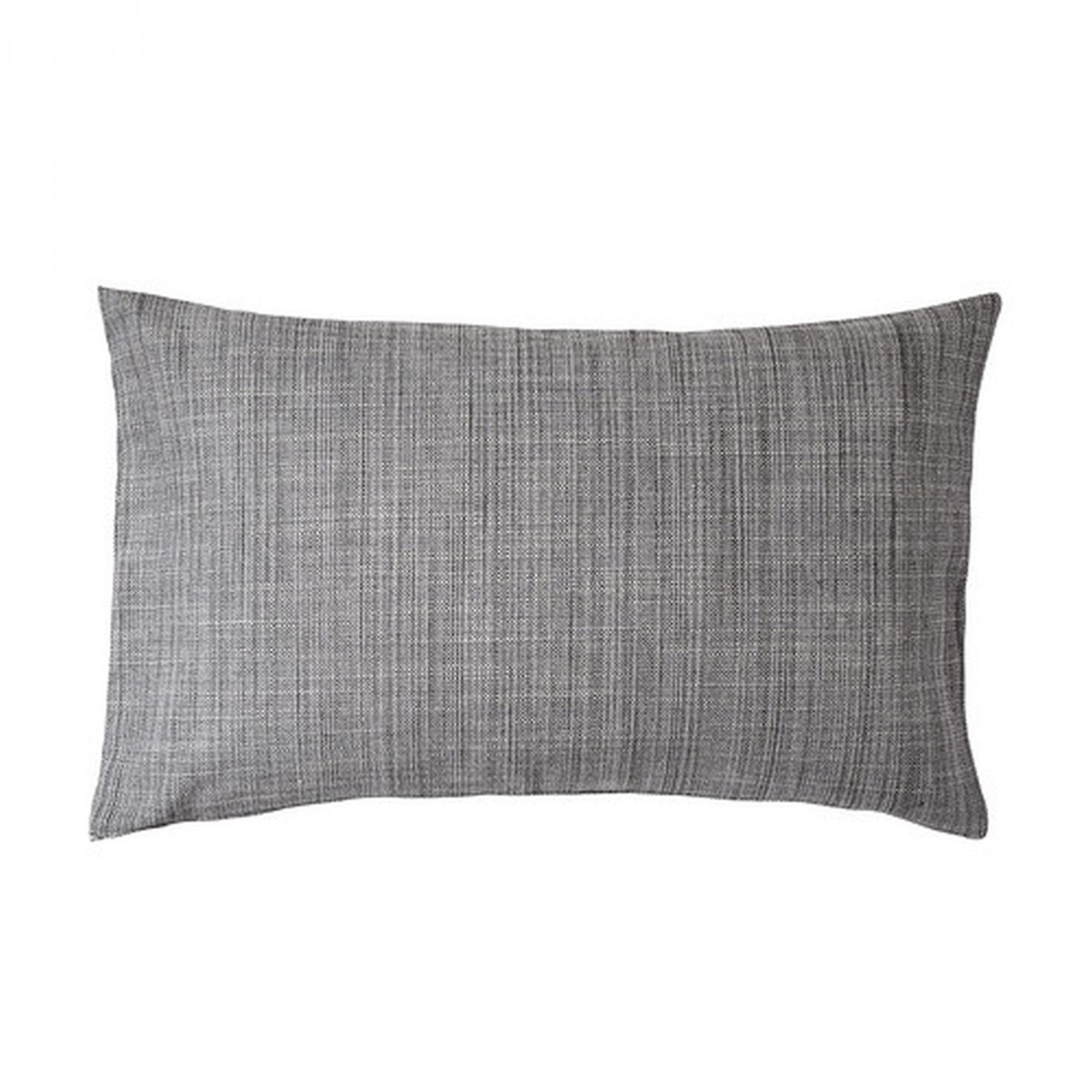 ikea isunda cushion cover pillow sham gray 16 x 26 grey linen lumbar. Black Bedroom Furniture Sets. Home Design Ideas