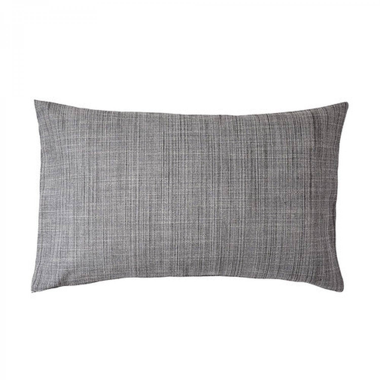 Ikea isunda cushion cover pillow sham gray 16quot x 26quot grey for Ikea uk cushion covers