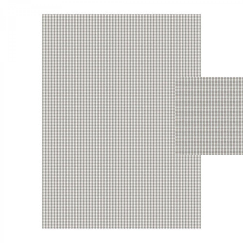 ikea berta ruta fabric material small check gray white 1 yd yarn dyed gingham check small