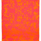 "IKEA Giltig Fabric Material ORANGE PINK Camo 118"" 3M  KATIE EARY London LIMITED EDITION Kanye"