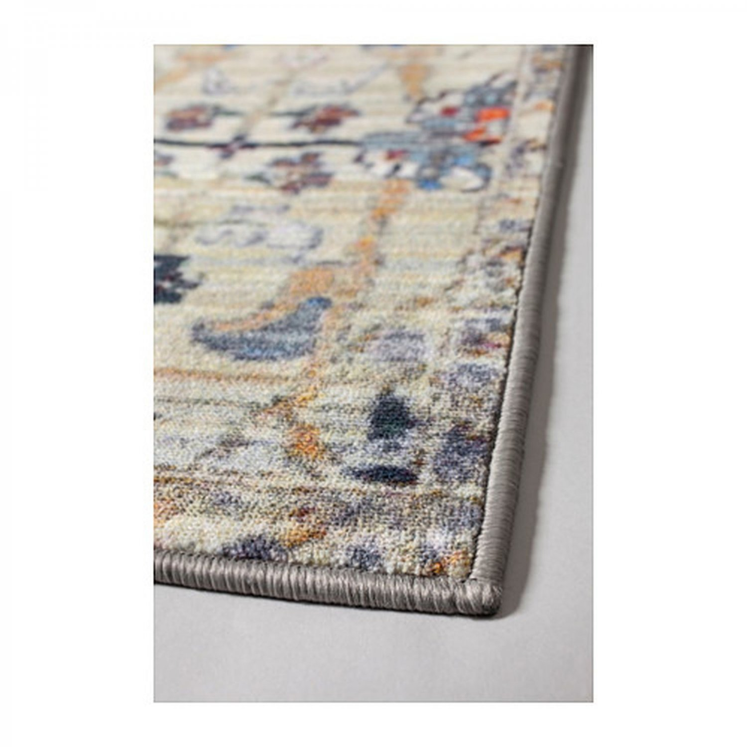 IKEA Logsterr AREA RUG Runner Carpet Muted Persian Style L�GSTER Low Pile Multicolor