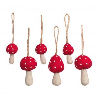 IKEA VINTER 2016 Mushrooms Xmas Decorations Holiday Ornaments Anime Doll Party Table