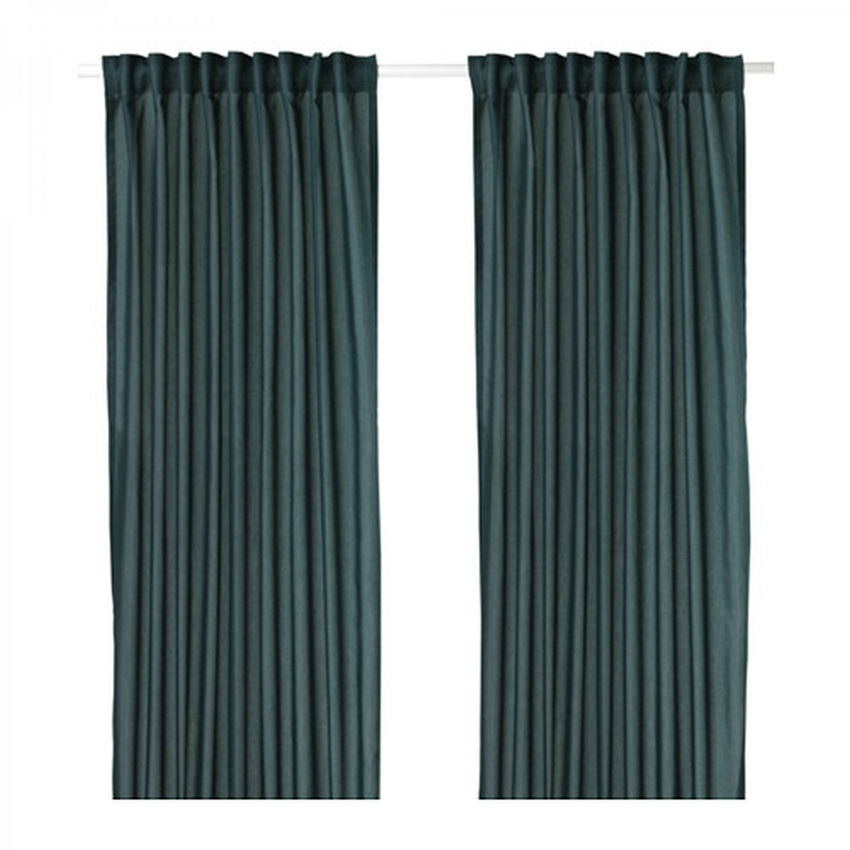 Ikea curtains blue - Ikea Curtains Blue 4