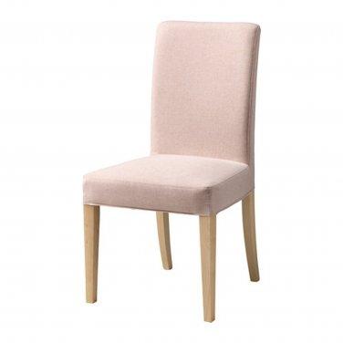 "IKEA Henriksdal Chair SLIPCOVER Cover 21"" 54cm GUNNARED LIGHT PINK"