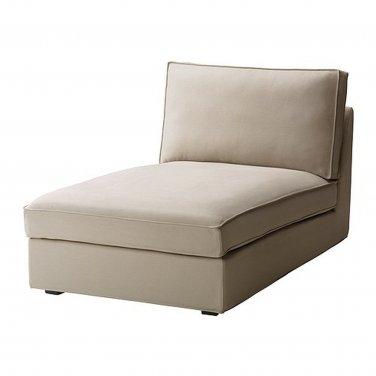 IKEA Kivik Chaise Longue SLIPCOVER Lounge Cover DANSBO BEIGE Bezug Housse