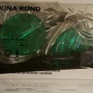 IKEA SKINA RUND GREEN Lollipop 10 LIGHT CHAIN Indoor OUTDOOR LED Kallt STRÅLA Glansa Translucent