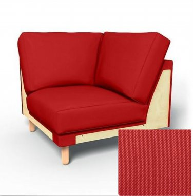 IKEA Norsborg Corner Section SLIPCOVER Cover FINNSTA RED