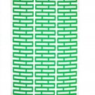 IKEA Avsiktlig Fabric Material GREEN White Print 1yd  Geometric Rectangles LIMITED EDITION