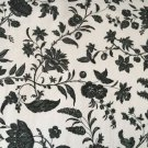 Ikea EKTORP Sofa Bed COVER Hovby BLACK WHITE Bettsofa Bezug  SLIPCOVER Sofabed FLORAL