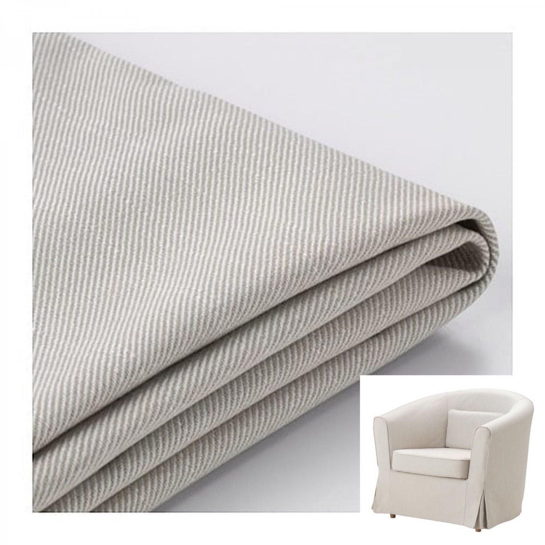Ikea Ektorp Tullsta Armchair Slipcover Chair Cover Nordvalla Beige Bezug