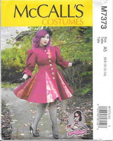 McCall's M7373 Adult Yaya Han Godet Coats Sizes 6, 8, 10, 12, 14 Costume Coat Pattern S