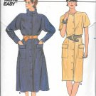 Butterick Straight Flared Skirt Shirt Dress Size 12 14 16 Vintage Sewing Pattern 6744