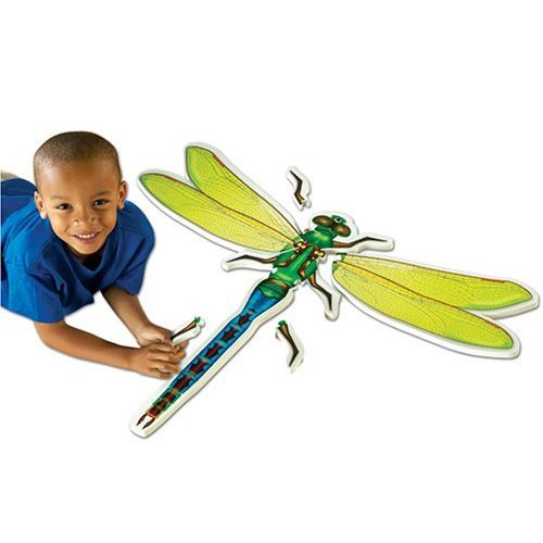 Learning Resources Dragonfly Foam Floor Puzzle * NEW*