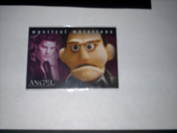 ANGEL SEASON 5 BL3 BL-3 BOX LOADER CARD